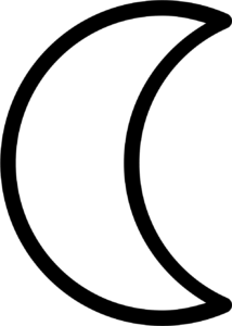 Символ луна.