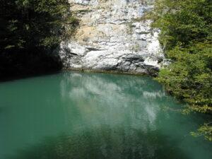 Изумрудное Озеро. Места силы Абхазии.