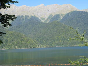 Озеро Рица. Места силы Абхазии.