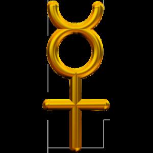 Символ меркурий.